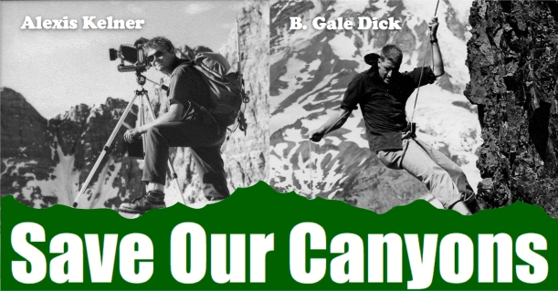 Save Our Canyons' Founders: Alexis Kelner and Gale Dick