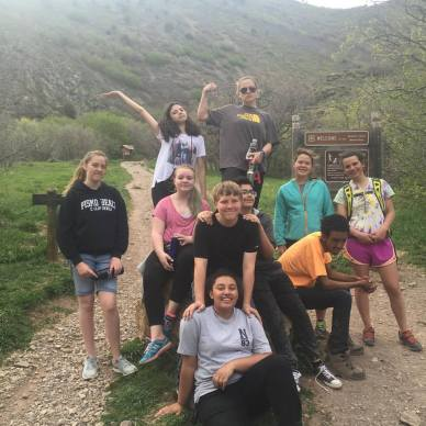SOCkids earth day hike