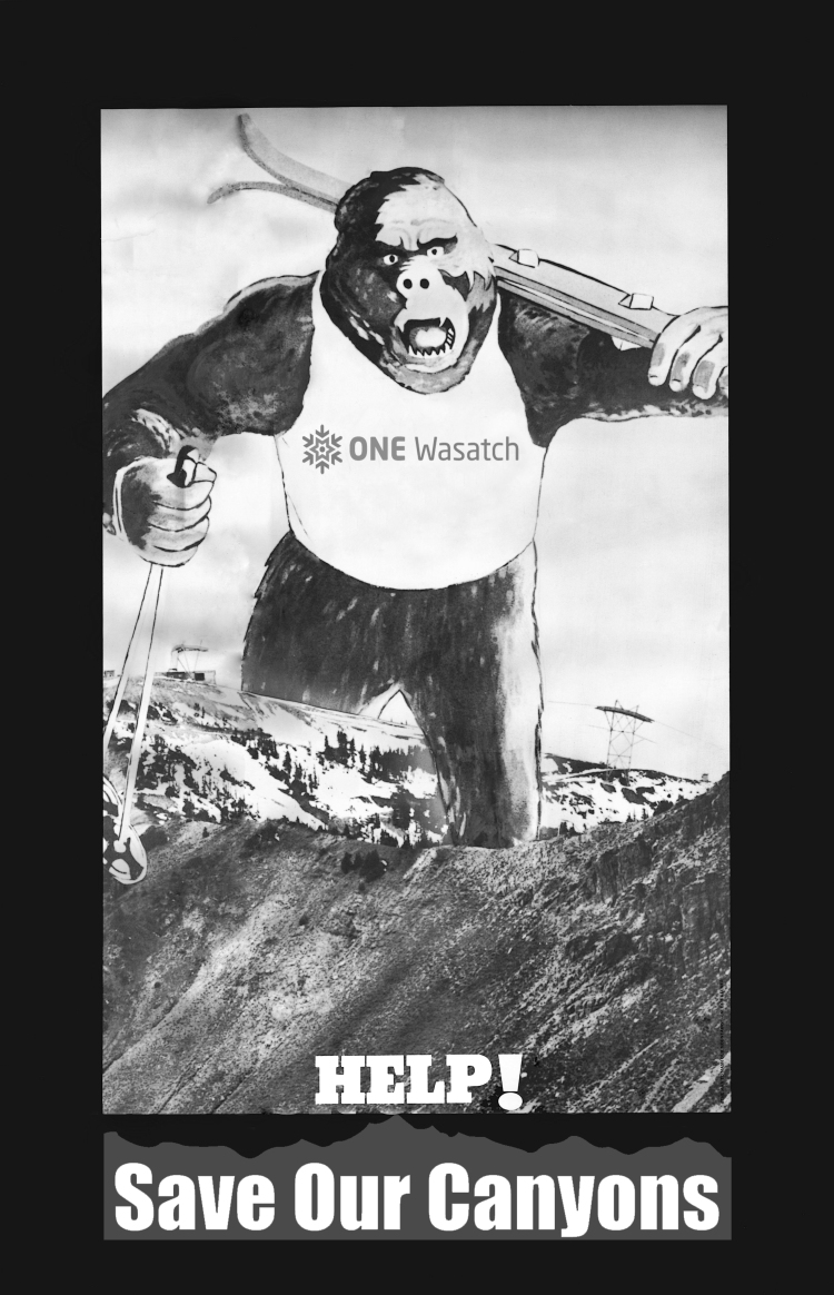 Gorilla logo One Wasatch